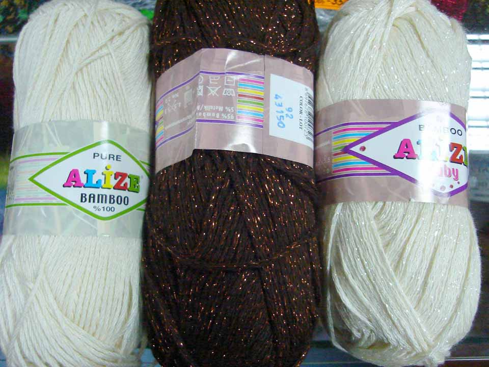 Bamboo Yarn For Irish Crochet